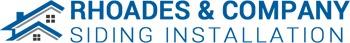 Rhoades & Company Siding Installation